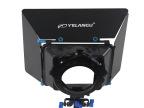 摄影器材 5D单反摄影摄像M3遮光斗带滤镜插槽 铝合金 100mm口径