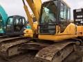大同县二手小松220-7挖掘机,原装进口一手工地干活机子