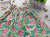 童裙 夏季新款韩版女童印花纯棉吊带裙夏季清仓特价童装裙子批发