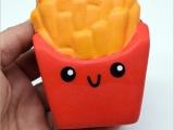 pu益智玩具 仿真牙齿薯条精品慢回弹玩具