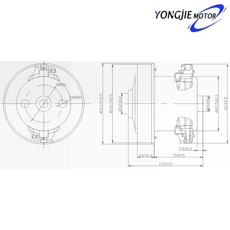 真空吸尘器电机2极苏州工厂直销 山东泰安交流吸尘器电机供应商