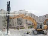 矿山开采新旧挖掘机改装液压钻机一分钟钻一米