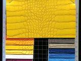 2016新款PVC鳄鱼纹皮革 仿真皮效果