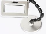 带LED塑料圆球转接放大镜 方形台式放大镜 厂家批发