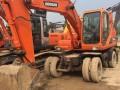 出售二手挖掘机斗山轮挖150上手即可开工