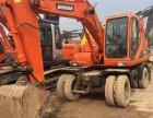出售二手挖掘机轮挖斗山150精品车况,全国包送