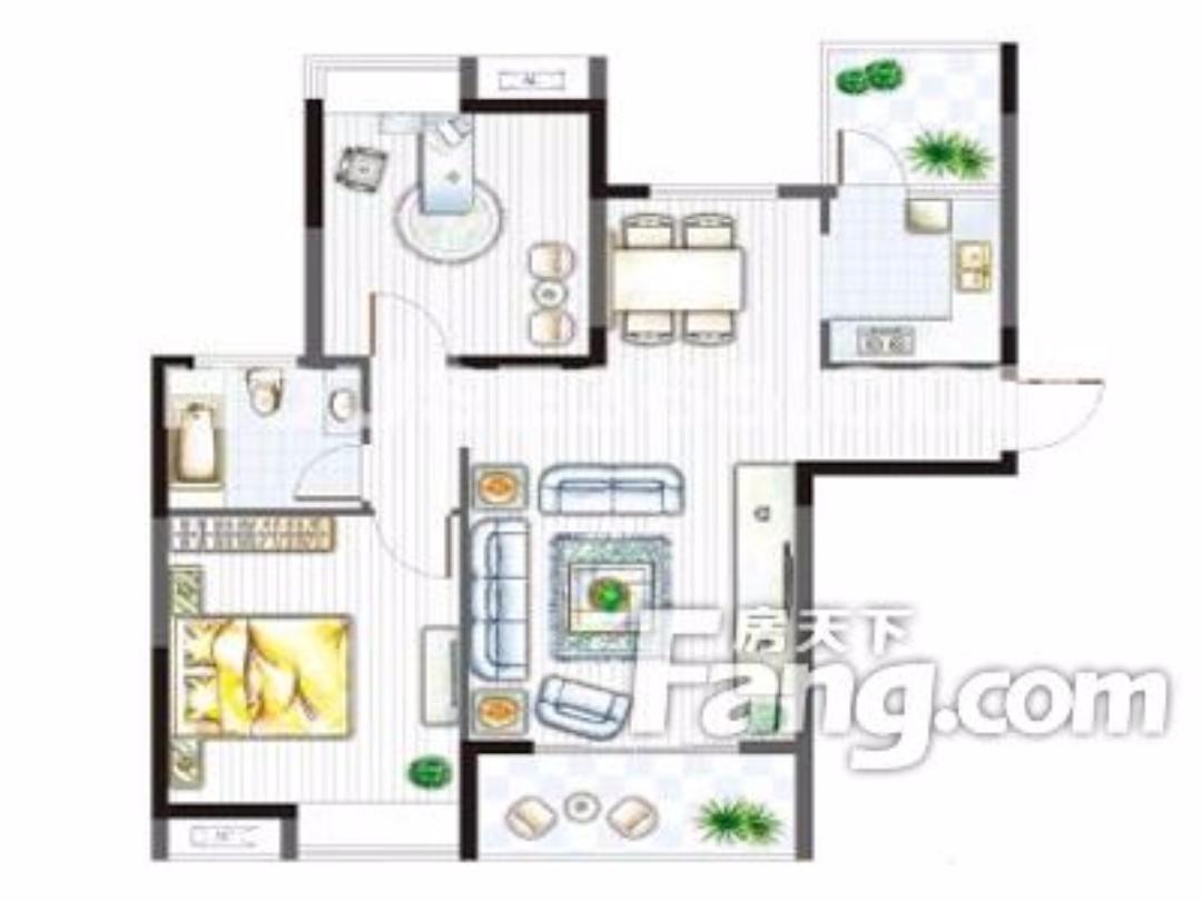 运河花园精装温馨两居室超干净整洁,房东急租,值得看一眼的房子