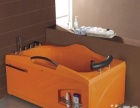 正品 南希卫浴浴缸,1米8双人橙色,全新木框包装