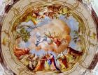 星空壁画/天花顶星空壁画/欧洲油画天顶壁画/姿彩壁画