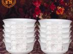贝玉 景德镇陶瓷骨瓷器日式韩式米饭碗瓷碗寿碗定做创意可爱套装