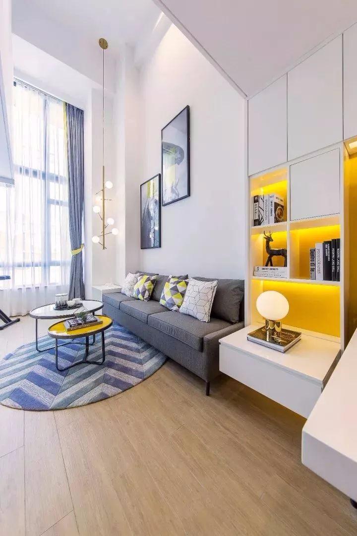 为年轻人设定的家,62平温馨时尚复式,90后的你一定喜欢!