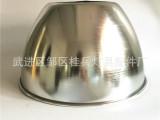 厂家批发 加深LED工矿灯铝灯罩 加厚镜