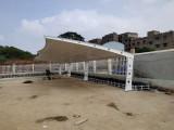 揭阳地区膜结构停车棚供应商24小时服务