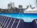 2016新款襄阳专供地区支架水池泳池 水上乐园水上滑梯 冲关 闯