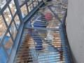 乐山烟囱爬梯护网平台维修除锈刷油漆