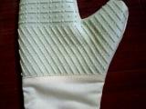 淡黄色 单面硅胶手套  微波炉手套 隔热手套