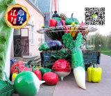 仿真蔬菜雕塑供应商哪家专业|玻璃钢蔬菜雕塑代理加盟