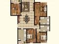 仁恒滨江园三期蕞小的四房户型,户型方正,重新装修过,保养好
