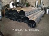 佛山专门螺旋风管安装,江大品牌螺旋风管厂废气处理管道