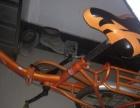 折叠儿童小自行车