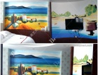 南充油画手绘电视墙.壁画.装饰挂画.雕塑.酒店配画