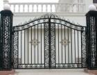 天津别墅铁艺围栏制作安装 红桥区定做铁艺大门安装