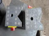 新日厂家供应磁性V型架 花岗石V型块 铸铁五口V型铁
