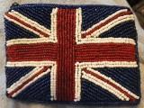 厂家直销手工串珠包 珠绣手袋 珠绣零钱包 手工珠片包