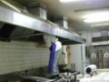 从事大型油烟机、中央空调清洗服务