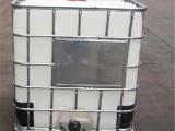 厂家直销吨桶 1000升塑料桶批发 镀锌钢框架白色方桶