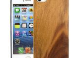 新款低价出售iphone5/5S木质手机壳保护壳 PC木壳手机外