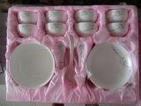 22头陶瓷餐具套装 促销餐具骨质瓷餐具 厂家直销 价格实惠