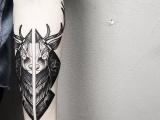 南昌纹身,纹身培训,纹身图库,黑色刺青素材加一锅心灵鸡汤