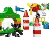 乐高式玩具积木 玩具套装组合拼插积木(40颗装)飞机汽车总动员