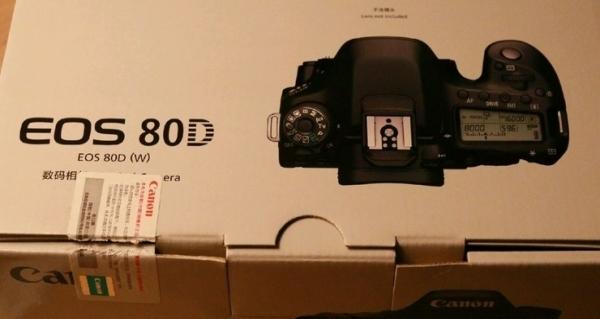 佳能80D 5D3全新带票
