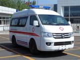 无锡长途120救护车转运病人救死扶伤,争分夺秒
