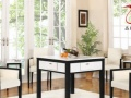 艺园实木盖板自动麻将桌四口机麻将机