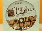 日本bourbon布尔本曲奇什锦饼干礼盒60枚317g进口食品休