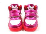 荧光拼色儿童运动鞋 韩版加厚童鞋 魔术贴运动温岭童鞋 厂家批发