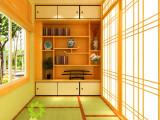 嘉兴定做榻榻米地台日式整体家装卧室阳台设计实木衣书柜定制安装