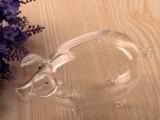 小猪猪造型玻璃酒瓶吹制工艺酒瓶白酒瓶空心玻璃白酒瓶异形玻璃瓶