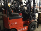 1.5噸二手電動叉車國產進口電瓶軟包夾叉車2噸平夾包叉車