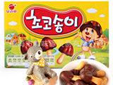 韩国食品*韩国食品批/好丽友黄蘑菇饼干w1000
