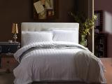 宾馆酒店客房床上用品布草 全棉加密提花三