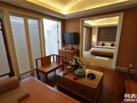 红宇伟业装饰简约中式风格酒店装修案例
