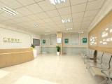 公明口腔医院设计 眼科医院装修 中医医院设计