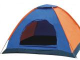 厂家批发 现货供应 双人园开门帐篷 户外野营旅游帐篷