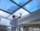 北京防撞条腰线办公室玻璃贴膜磨砂膜玻璃门贴膜