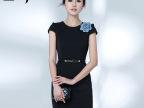 连衣裙 夏艾尚臣2015新款连衣裙女装夏OL时尚气质职业装一步裙子