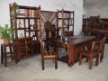 老船木茶桌椅组合船木茶台茶几家具仿古原生态客厅简约茶几